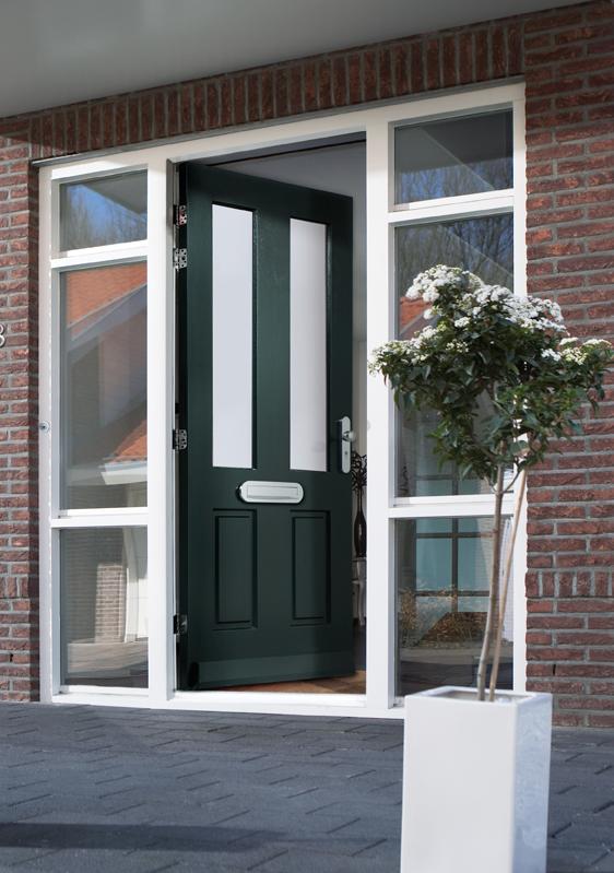 Houten buitendeur / voordeur