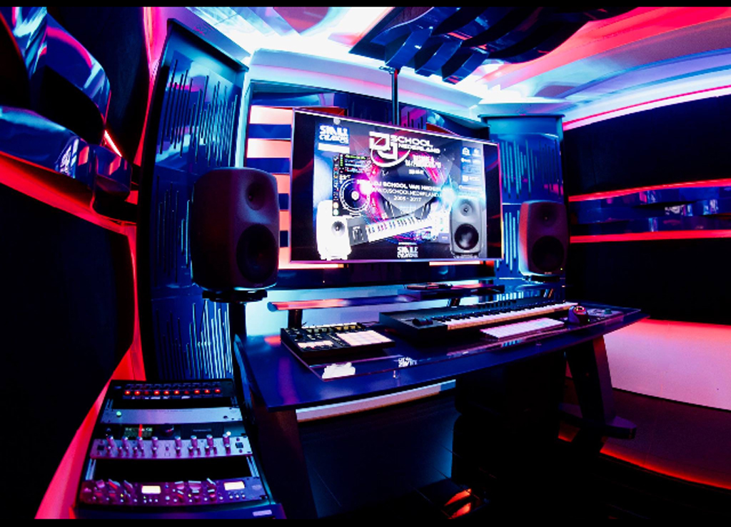 Studio inrichting